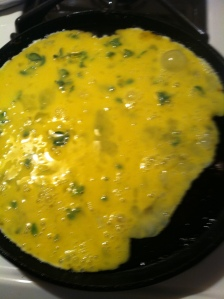Scrambled Herbed Eggs